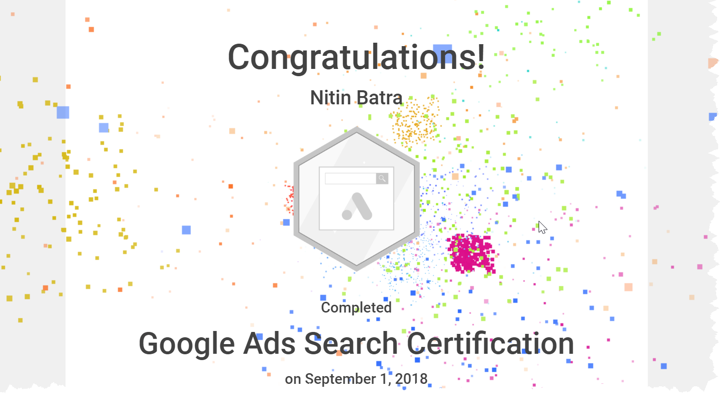 Pass the Google Ads exams in first attempt