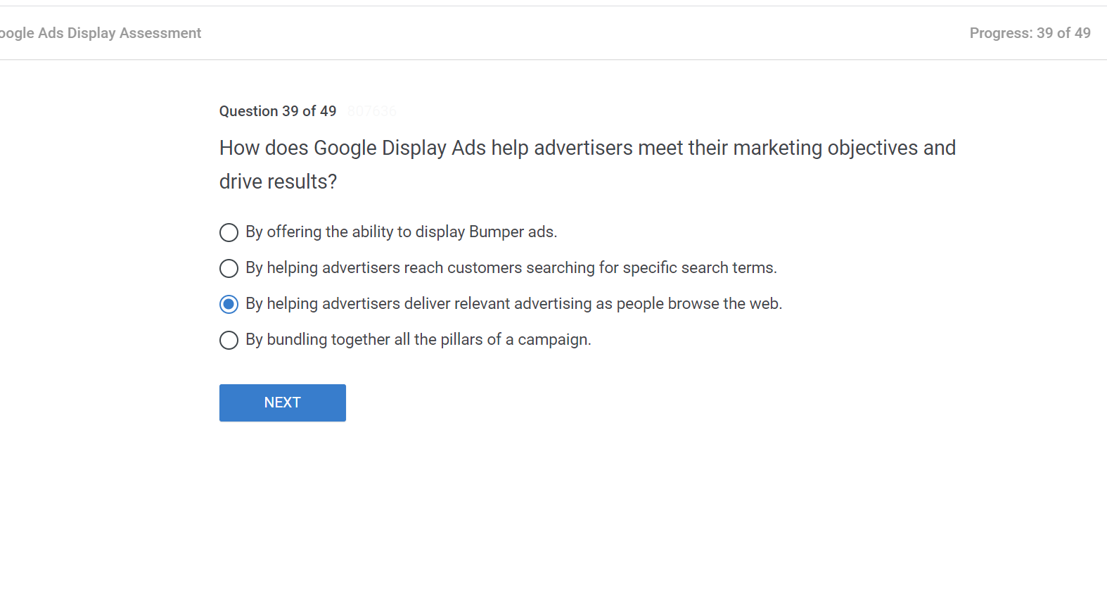 How does Google Display Ads help advertisers meet their marketing objectives and drive results
