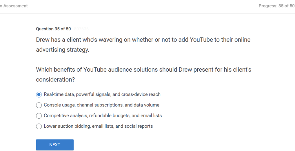 Drew has a client whos wavering on whether or not to add YouTube to their online advertising strategy