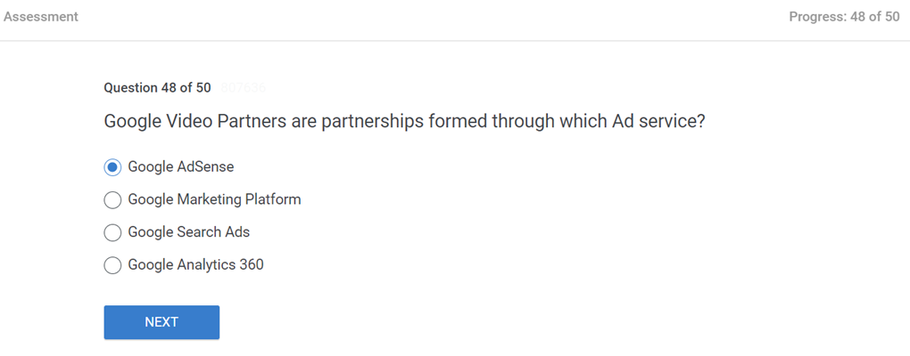 Google Video Partners are partnerships formed through which Ad service
