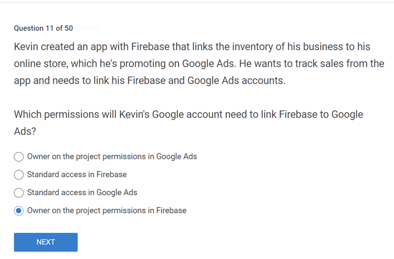 Kevin created an app with Firebase that links the inventory of his business to his online store
