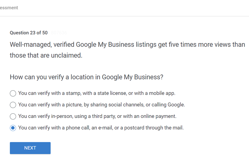 Well managed verified Google My Business listings get five times more views than those that are unclaimed