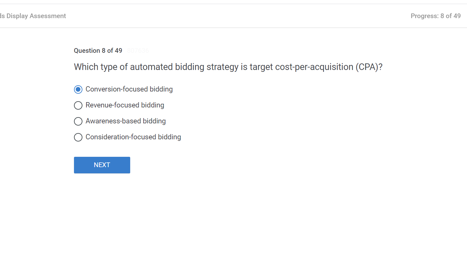 Which type of automated bidding strategy is target cost per acquisition CPAWhich type of automated bidding strategy is target cost per acquisition CPA