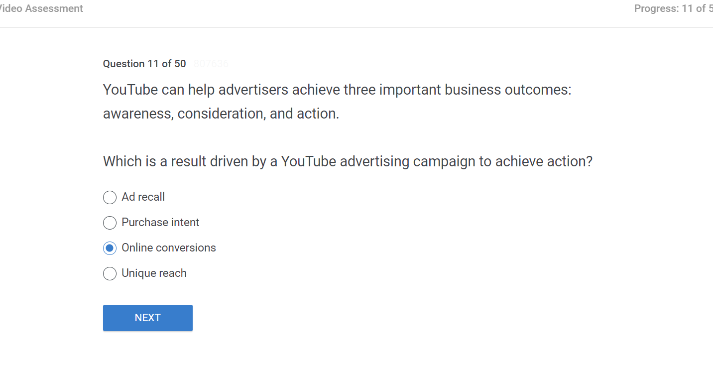 YouTube can help advertisers achieve three important business outcomes awareness consideration and action