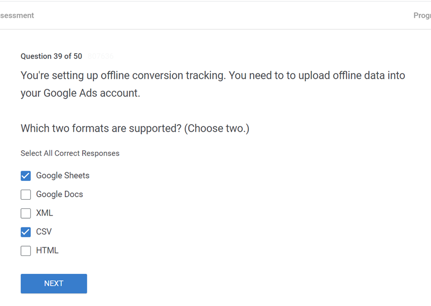 Youre setting up offline conversion tracking. You need to to upload offline data into your Google Ads account